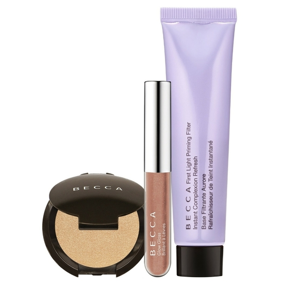 """BECCA Other - Becca """"DRENCHED IN GLOW"""" Trio Kit"""